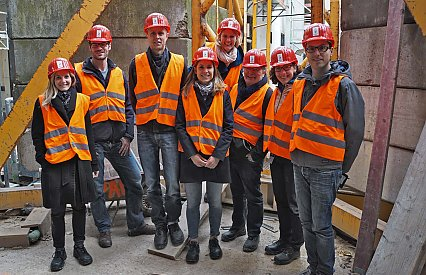 PROPROJEKT at the DomRömer construction site