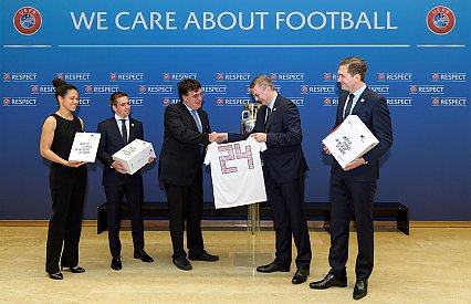 DFB submits bid document for UEFA EURO 2024 in Germany