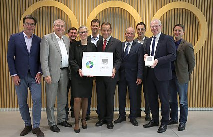 New DOSB Headquarter Building awarded with the DGNB Platin Certification
