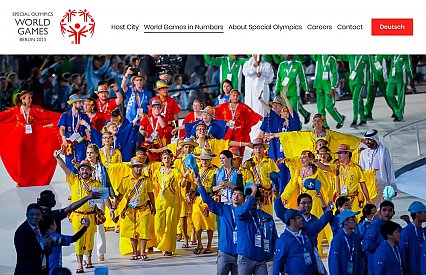 Special Olympics World Games Berlin 2023 goes online