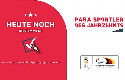 Vote with us for the German Para Athlete of the decade