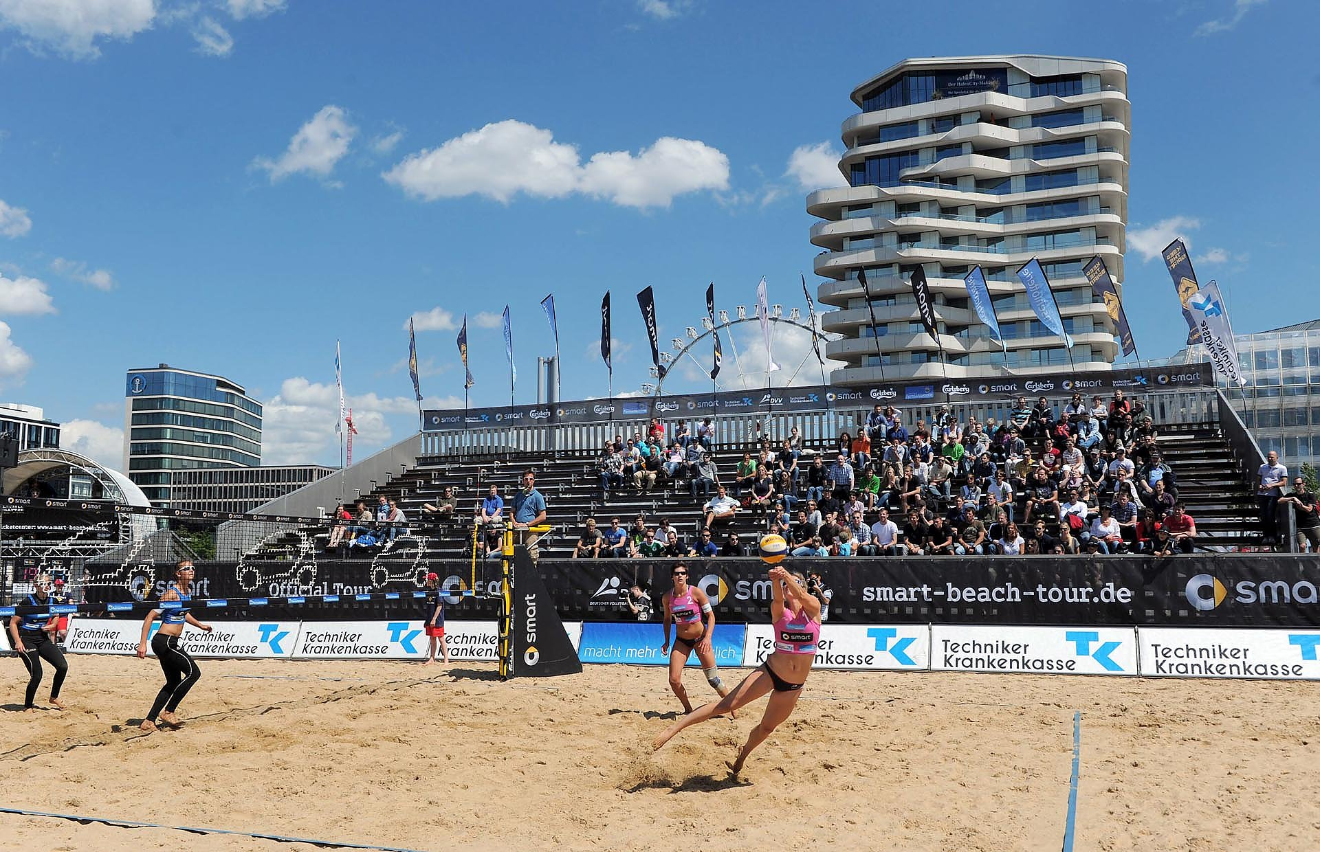 Beachvolleyball smart Supercup Hamburg