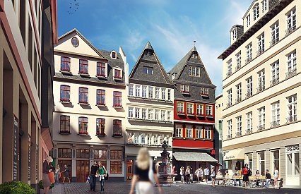 Redevelopment of the DomRömer Area Frankfurt am Main (Tender Management)