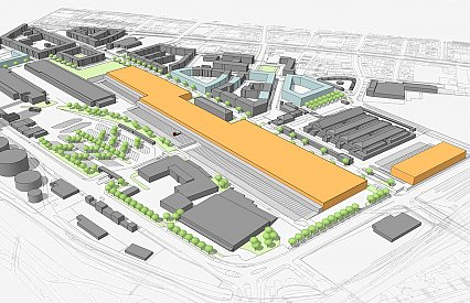 Redevelopment of Munich's wholesale market