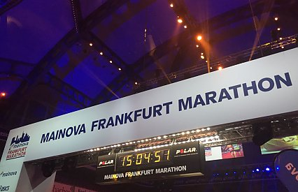 PROPROJEKT at the Frankfurt Marathon